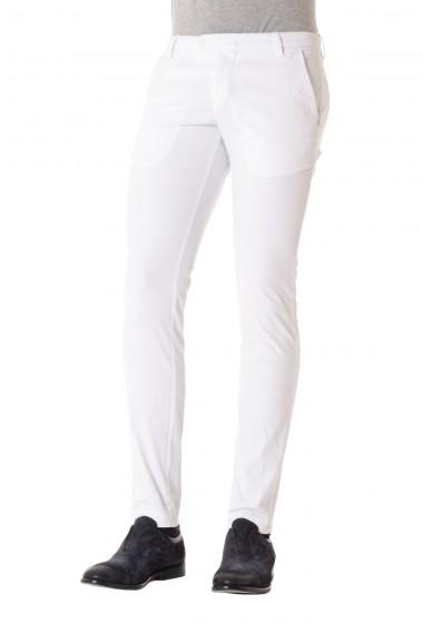 Pantalone colore bianco modello CORONA in cotone MICHAEL COAL P/E 16