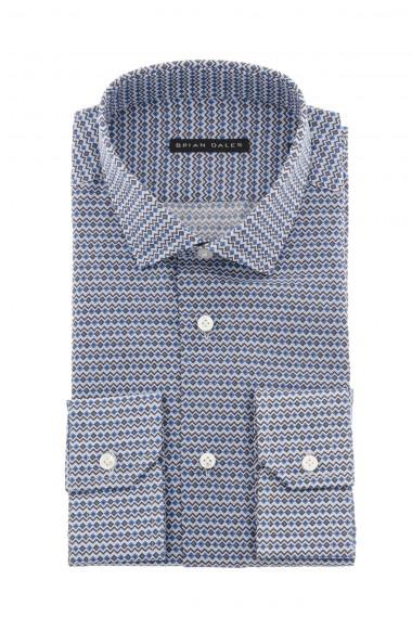 Camicia per uomo colori azzurro e grigio BRIAN DALES P/E 16