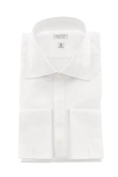 White formal shirt for men BORSA made in Italy