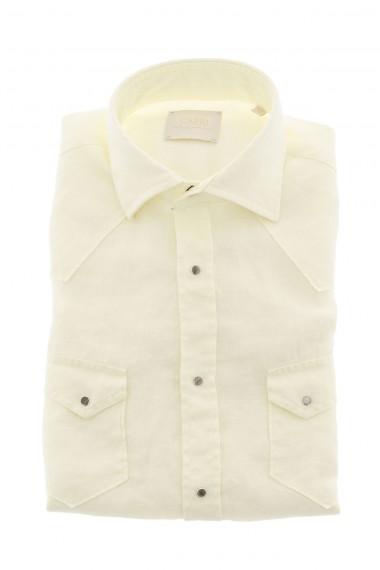 Camicia in lino CAPRI colore giallo  P/E 16