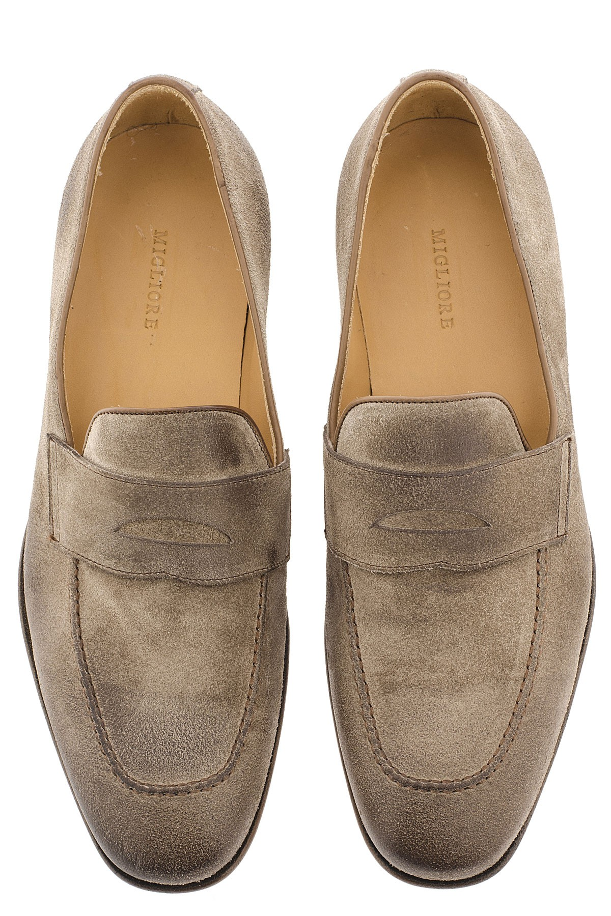 adatto a uomini/donne outlet stile moderno MIGLIORE Taupe beige shoes for man S/S 16 - Rione Fontana