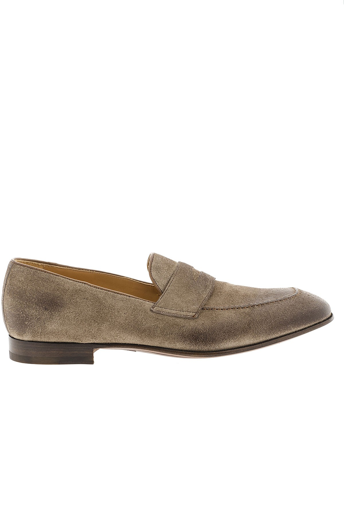 MIGLIORE Taupe beige shoes for man S/S 16