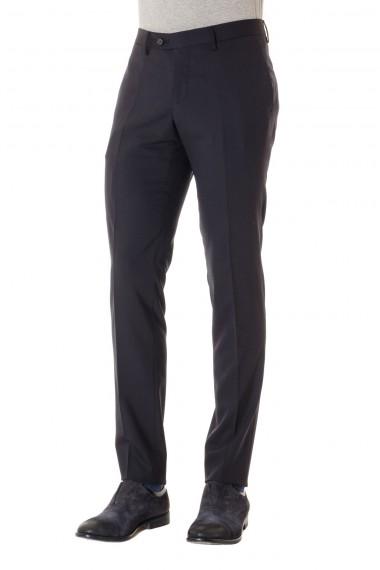 TAGLIATORE Pantalone in lana colore blu scuro P/E 16