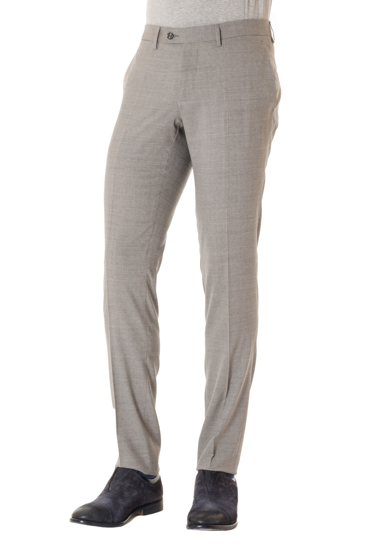 a57ae0b78e Pantalone grigio chiaro in lana TAGLIATORE P/E made in Italy