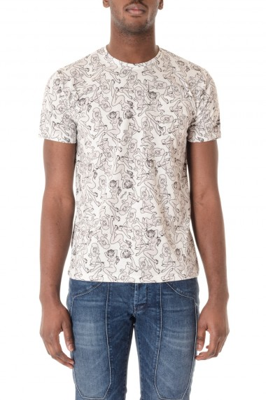 SAINT BARTH T-shirt for men Special Edition DON ED HARDY  S/S 16