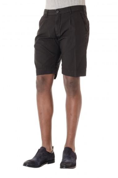 P/E 16 Bermuda da uomo MYTHS in cotone nero