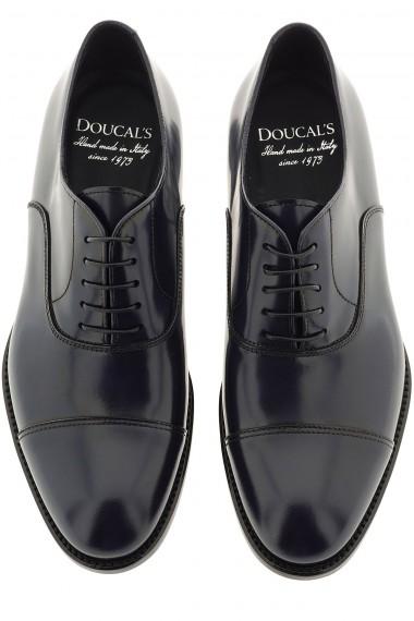 DOUCAL'S Scarpe blu scuro per uomo P/E