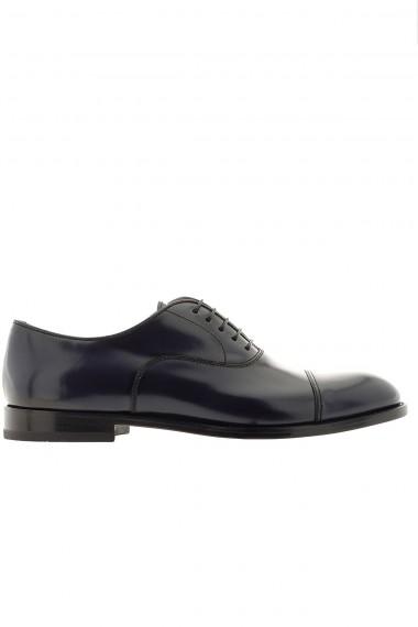 DOUCAL'S Dark blue shoes for man P/E