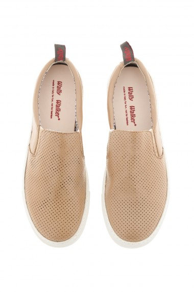 Beige shoes for men WALLY WALKER S/S 16