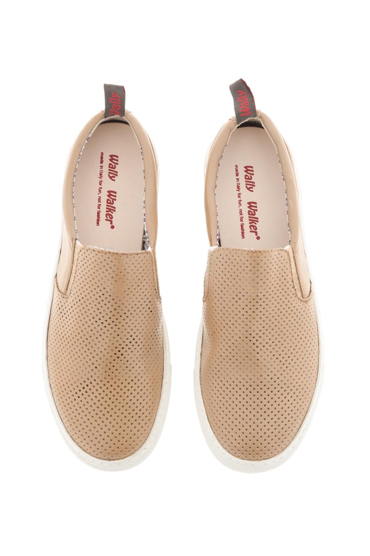 Beige shoes for men WALLY WALKER S/S 16