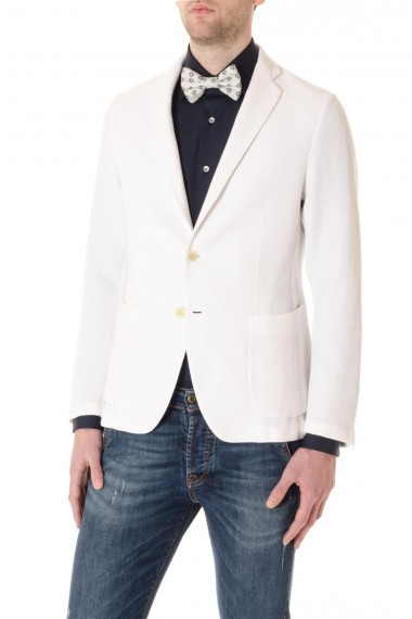 CAPRI White cotton jacket for men  S/S 16