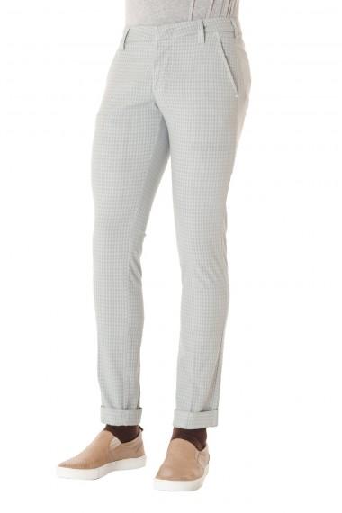 ENTRE AMIS Pantalone grigio da uomo P/E 16 in cotone
