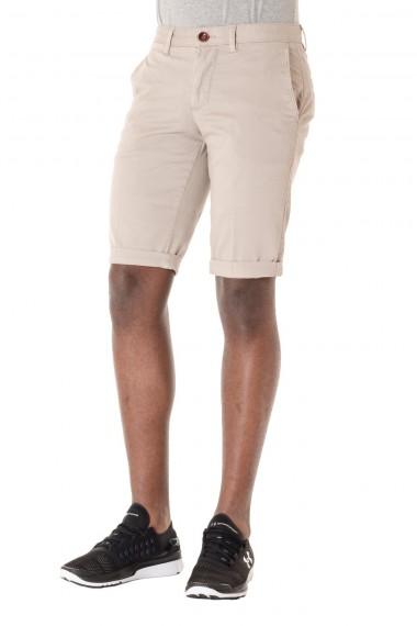 SIDDARTH Bermuda per uomo P/E 16 in cotone colore beige