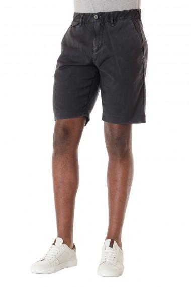 P/E 16 Bermuda  in lana per uomo colore grigio scuro MYTHS
