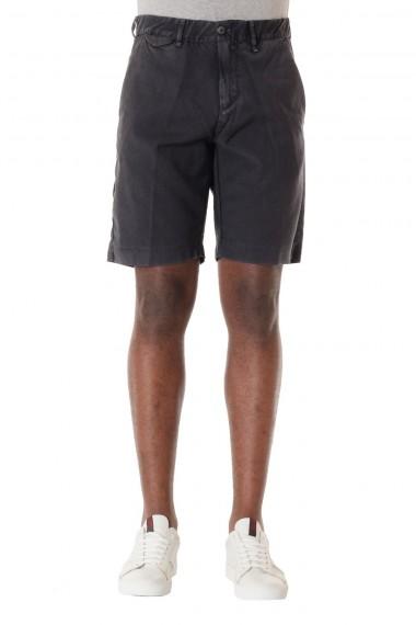 S/S 16 Dark gray wool bermuda shorts for men  MYTHS