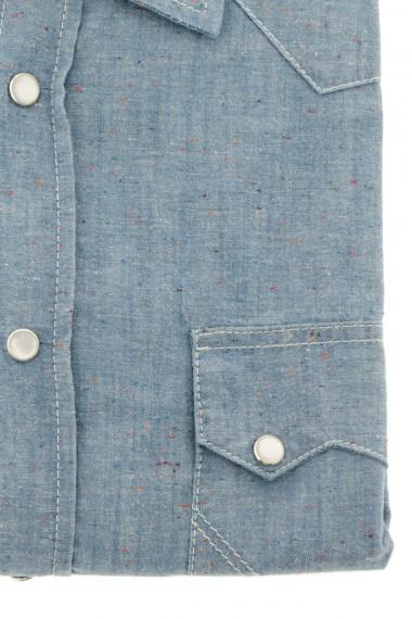 Camicia per uomo tessuto in denim ROY ROGER'S P/E 16