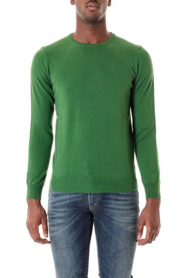 Girocollo verde RIONE FONTANA A/I 16-17 per uomo in cashmere