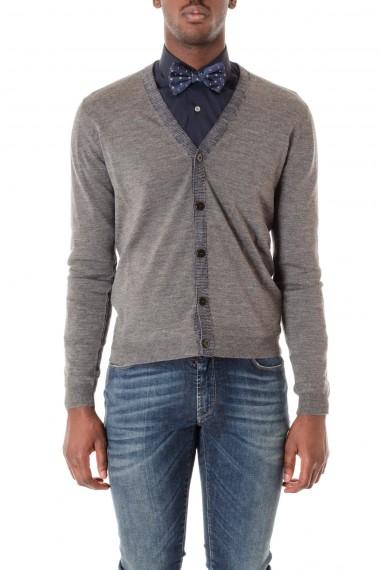 Cardigan per uomo in maglia di lana ETRO A/I 16-17  colore grigio