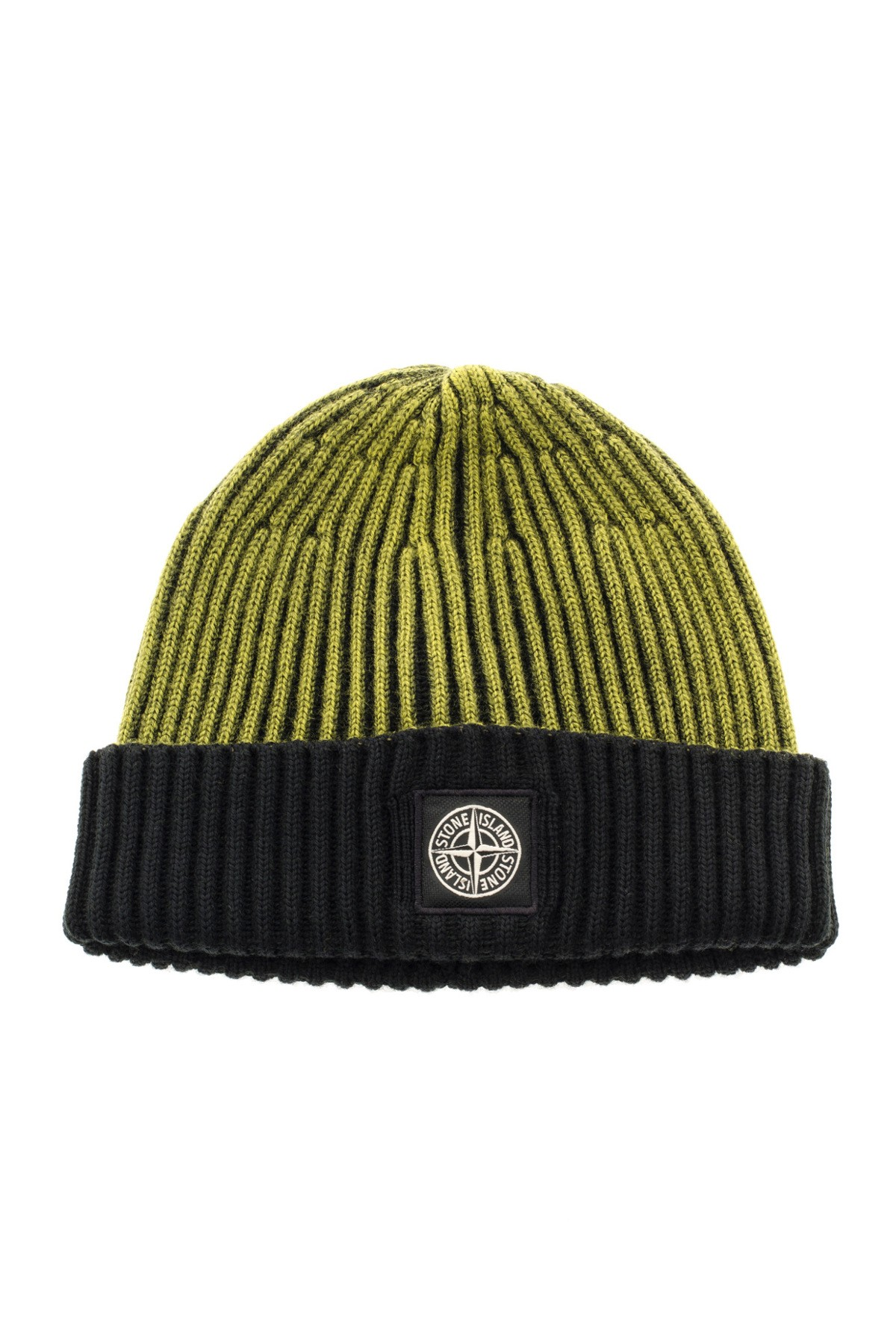 STONE ISLAND Yellow and black cap F W 16-17 - Rione Fontana 34342769000