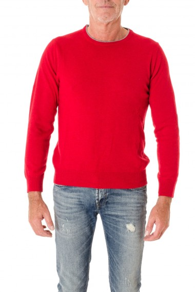 A/I 16-17 Girocollo rosso per uomo RIONE FONTANA