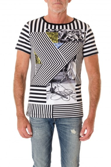 T-shirt per uomo con stampa in DIESEL A/I 16-17
