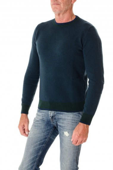 Crewneck sweater H953 for men F/W 16-17 blue and green colors