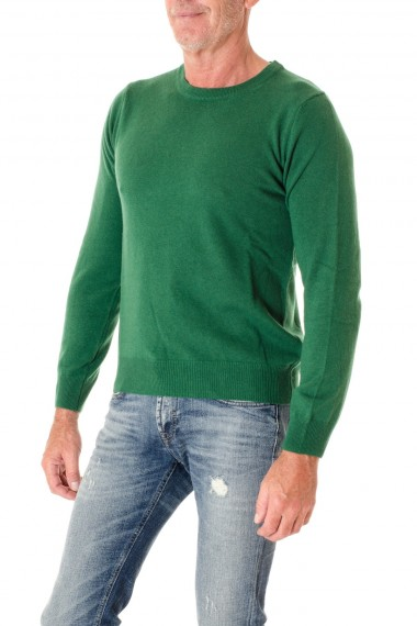 Green round neck sweater for men RIONE FONTANA F/W 16-17