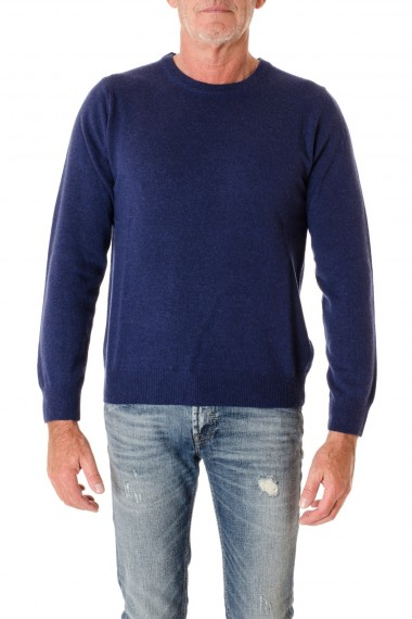 Blue round neck sweater F/W 16-17 for men RIONE FONTANA