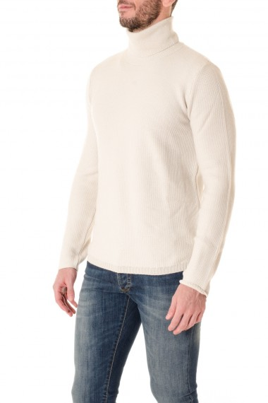 Turtlenek sweater for men PAOLO PECORA F/W 16-17 pure wool fabric