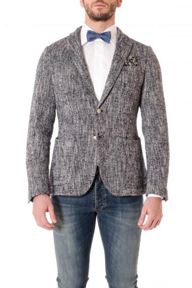 CAPRI Blue and white melange jacket F/W 16-17