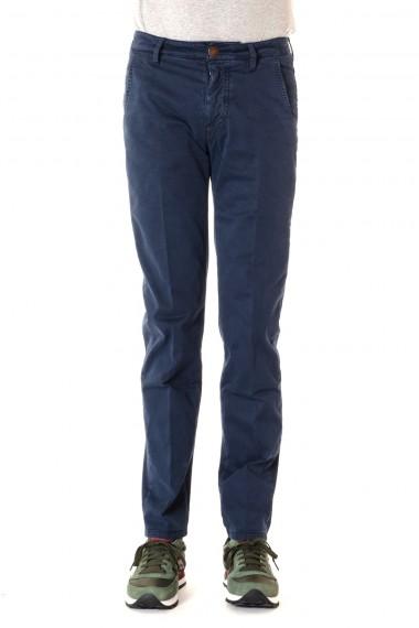 Pantalone in cotone BARBA per uomo  A/I 16-17 colore blu