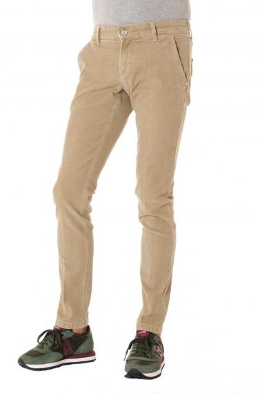 Pantalone in cotone ENTRE AMIS per uomo A/I 16-17 colore beige