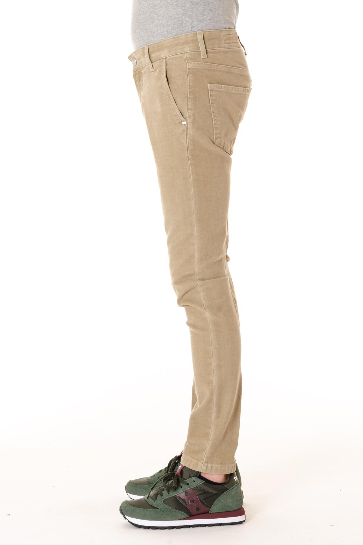 ENTRE AMIS A I Pantalone in cotone per uomo colore beige - Rione Fontana 86e860b5d3e
