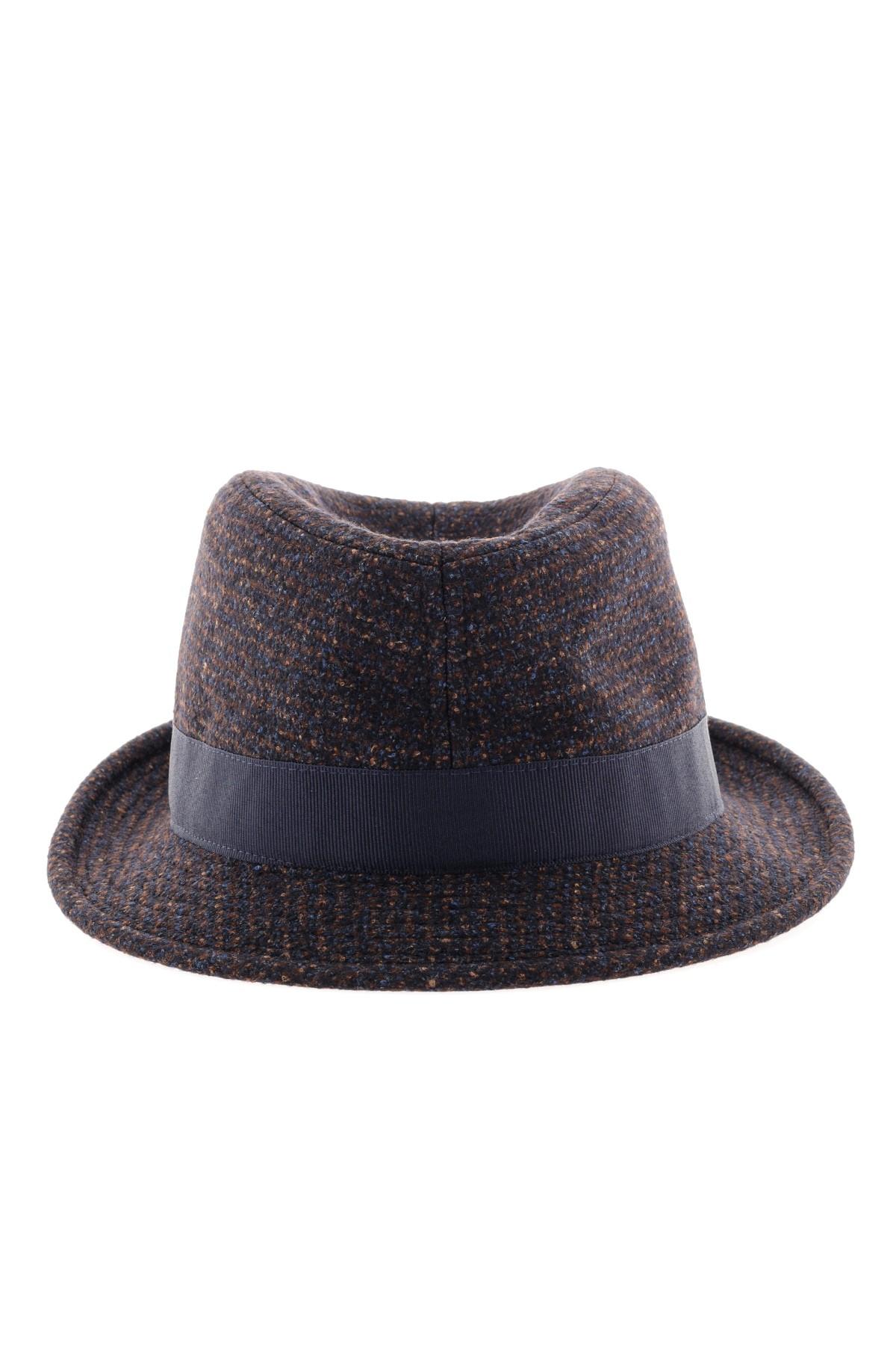 507ff151a6e TAGLIATORE F W 16-17 Hat for men with brown profile - Rione Fontana