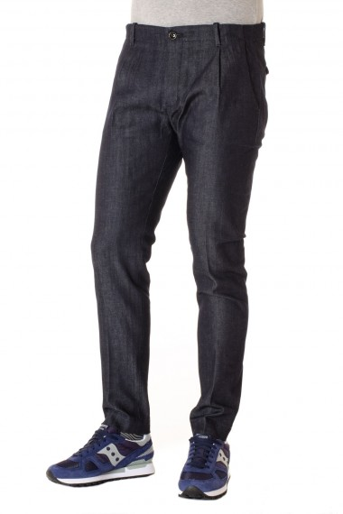 Pantalone denim con pince NINE IN THE MORNING A/I 16-17