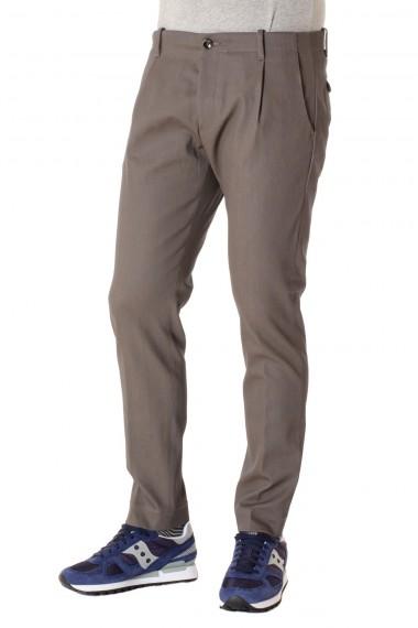 Pantaloni uomo NINE IN THE MORNING grigio tendente al marrone A/I 16-17
