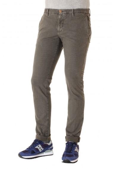 Pantaloni skin fit grigio INCOTEX A/I 16-17