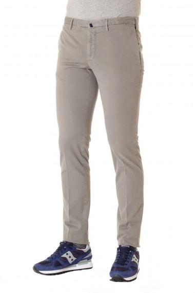 Pantaloni INCOTEX in cotone beige modello CONFORTCHINO A/I 16-17