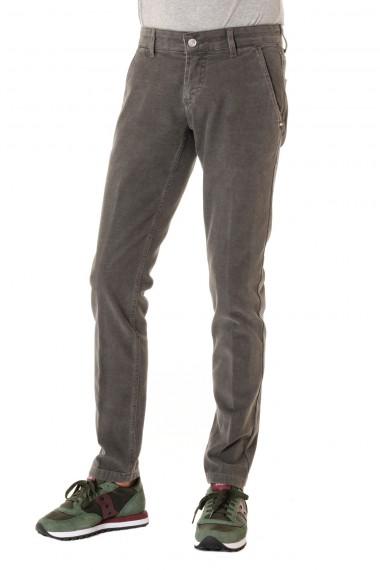 Pantalone colore grigio asfalto ENTRE AMIS per uomo  A/I 16-17