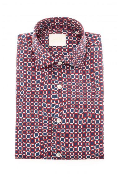 Camicia CAPRI tessuto con disegni geometrici A/I 16-17