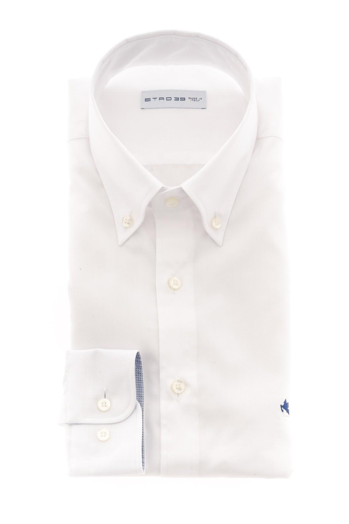 wholesale dealer a5ac3 6a379 ETRO Camicia bianca per uomo A/I