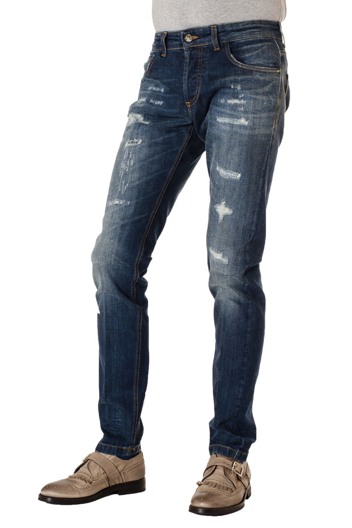 New Arrival Cheap Online Clearance With Paypal DENIM - Denim trousers Entre Amis Ebay Cheap Online jN3JsRlyw