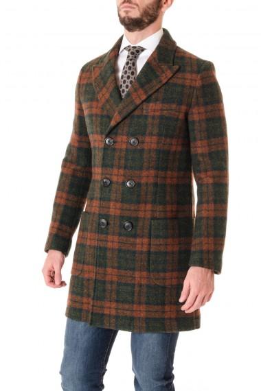 Green and rust color coat F/W 16-17 PALTO'