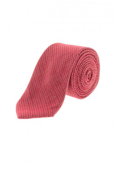 RIONE FONTANA Red tie for men F/W 16-17