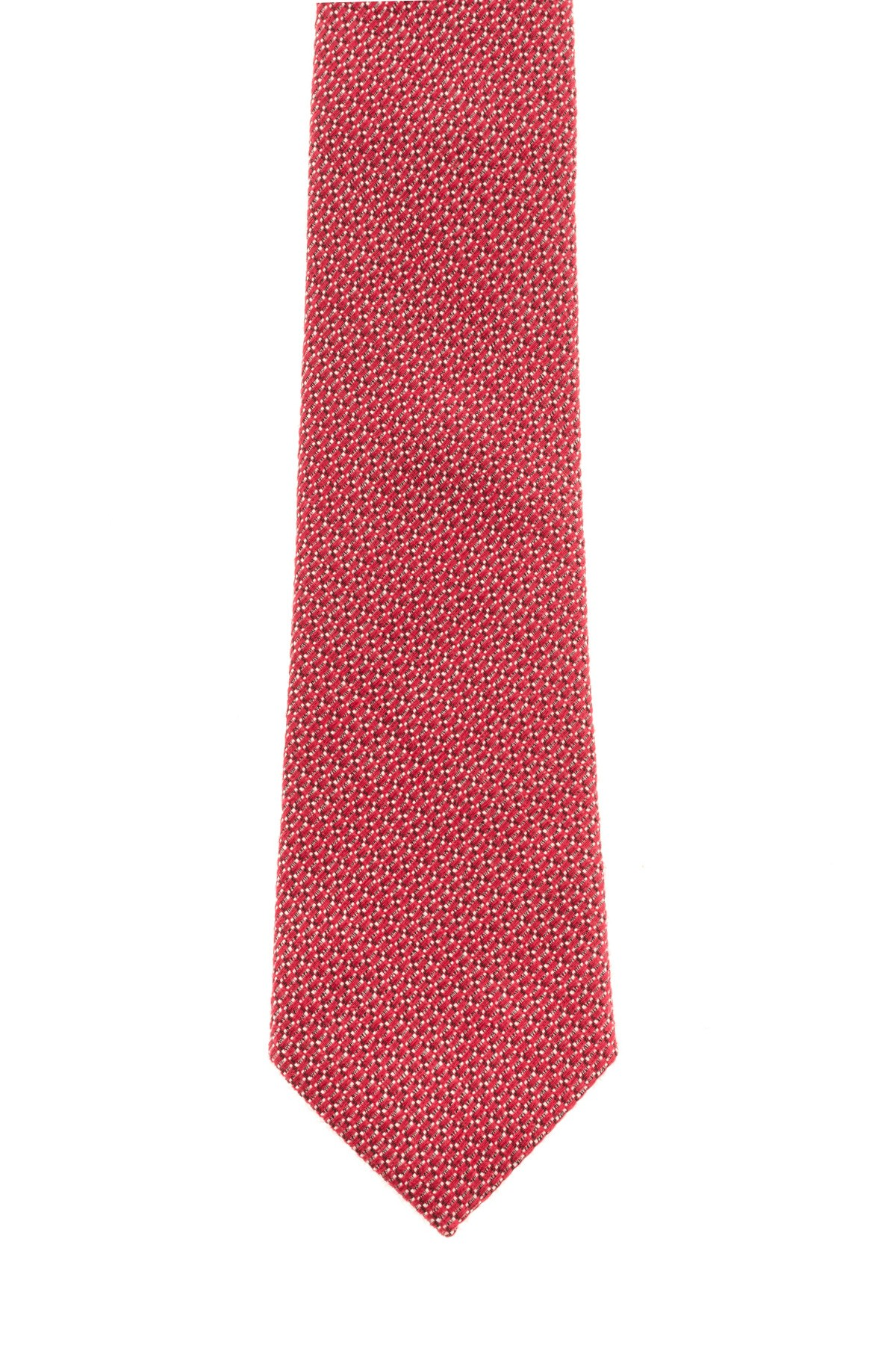 RIONE FONTANA Red tie for men F/W 16-17 made in Italy