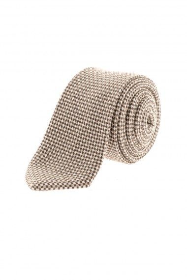 RIONE FONTANA Cravatta a quadretti per uomo A/I 16-17