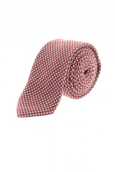 Cravatta a quadretti rossi per uomo A/I 16-17 RIONE FONTANA