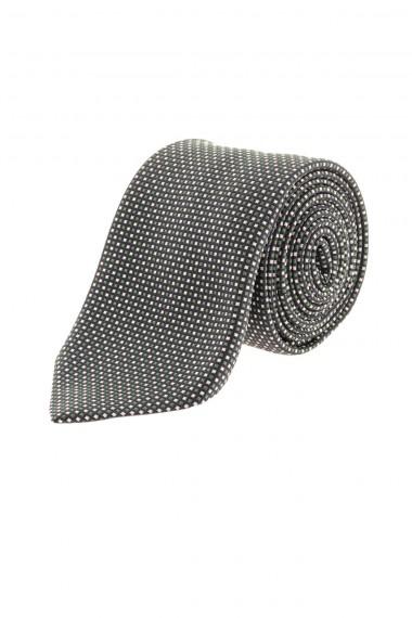 FRANCO BASSI Blue checkered tie for men F/W 16-17