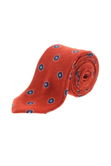 A/I 16-17 Cravatta rossa FRANCO BASSI per uomo