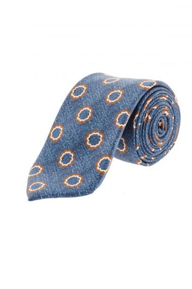 Cravatta azzurra FRANCO BASSI per uomo A/I 16-17